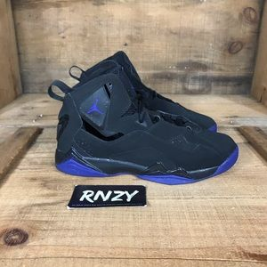 Jordan True Flight Black Blue